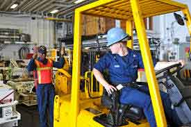 Fork lift Training in Dowlish Ford Somerset